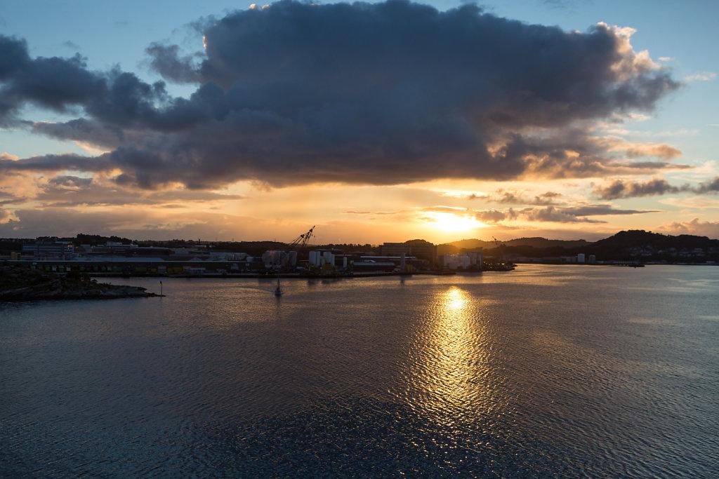 Sunrise at Stavanger